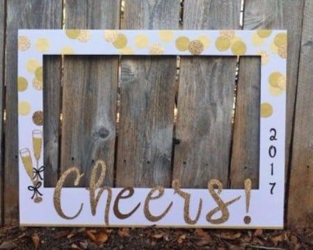 decoracion para año nuevo 2017 para fotografia