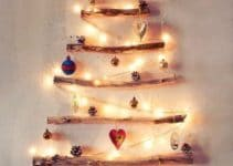 Como crear un arbol de navidad de ramas secas