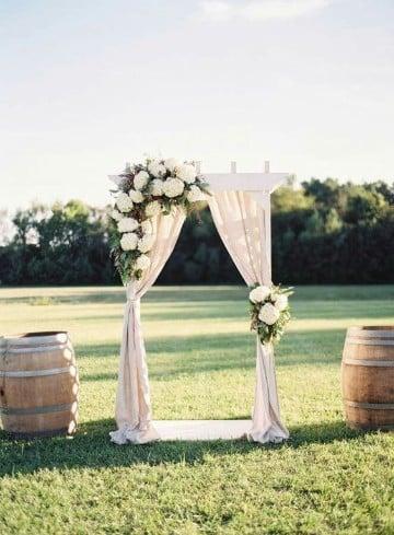 ideas para boda civil sencilla a campo abierto