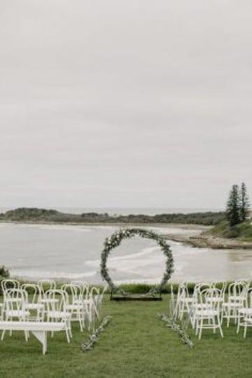ideas para boda civil sencilla en el lago
