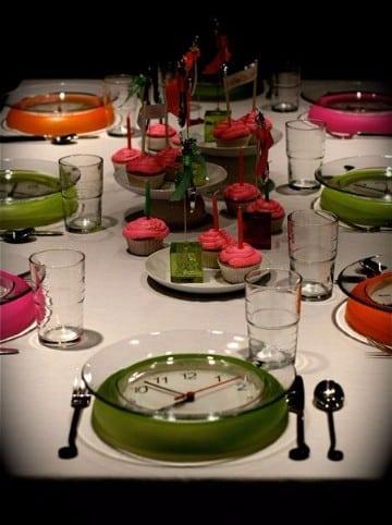 mesas decoradas para año nuevo creativas