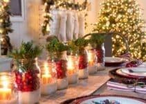 Imagenes y diseños de mesas decoradas para año nuevo