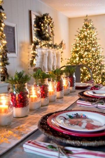 mesas decoradas para año nuevo paso a paso