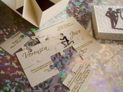 modelos de invitaciones para matrimonio creativas