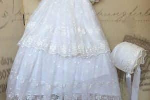 Bonitos  diseños y modelos de vestidos para bautizo