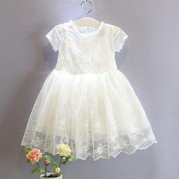 modelos de vestidos para bautizo para niñas