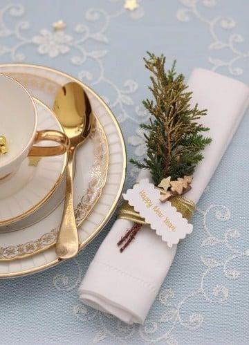 servilletero para decoracion para año nuevo 2017