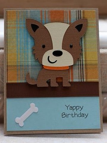 tarjetas de cumpleaños con perros adorables