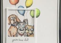 Diseños especiales de tarjetas de cumpleaños con perros