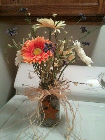 arreglos florales para boda sencillos naturales