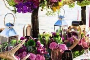 Hermosos y sutiles arreglos florales para boda sencillos