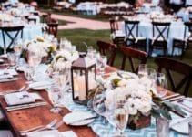 Ideas para crear arreglos para boda en jardin