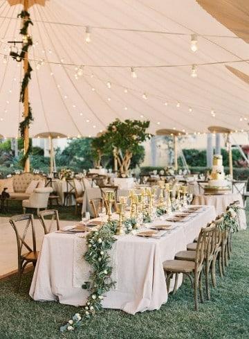 arreglos para boda en jardin techado