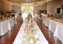 Algunas ideas para arreglos para boda en salon