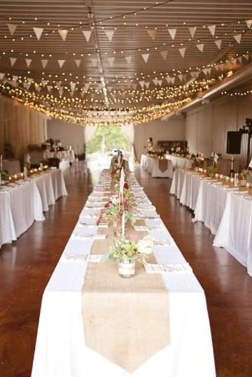 arreglos para bodas en salon elegante