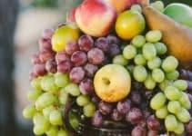 Algunos diseños de centros de mesa con frutas naturales