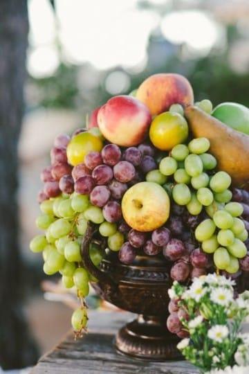 Algunos Dise 241 Os De Centros De Mesa Con Frutas Naturales