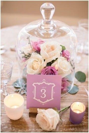 centros de mesa para novios con flores