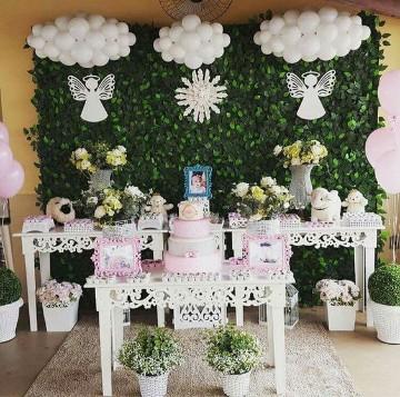 Ideas para saber como adornar una mesa para bautizo - Como decorar un salon para bautizo ...
