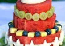 Originales cortes de frutas para decorar eventos