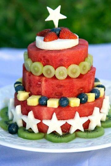 cortes de frutas para decorar tortas