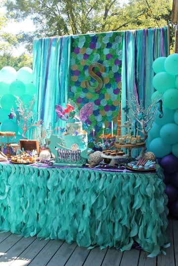 cumpleaños en piscina para niños decoracion