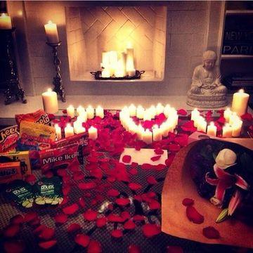 decoracion de aniversario de novios en casa