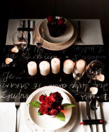 decoracion de aniversario de novios romantico