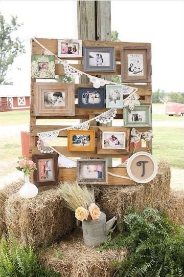 decoracion de bodas rusticas fotos