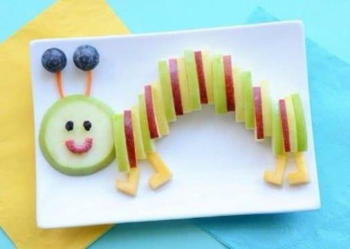 decoracion de frutas para niños original