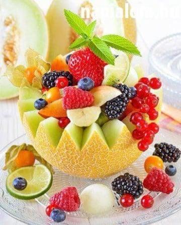 decoracion de frutas paso a paso para 15 años