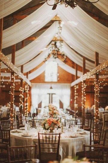decoracion de salon para casamiento con luces