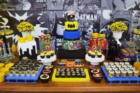 decoraciones de batman para fiestas infantiles para niños