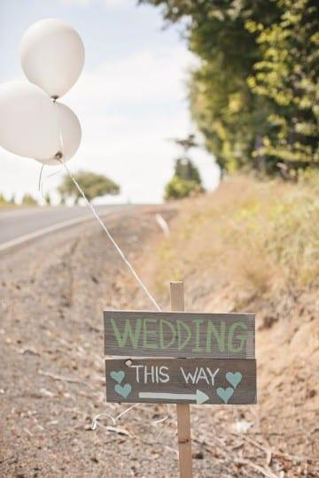 decoraciones de bodas en casa con globos