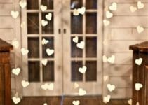 Hermosas y originales decoraciones de bodas en casa