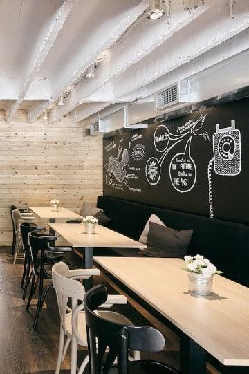 diseño de locales comerciales pequeños modernos