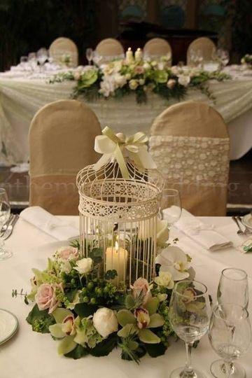imagenes de arreglos florales para boda centro de mesa