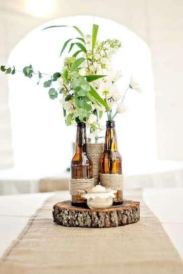 imagenes de arreglos florales para boda economico