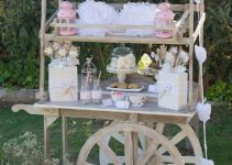 Ideas para mesa de dulces para bautizo vintage