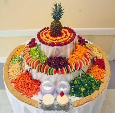 mesas de frutas para 15 años original