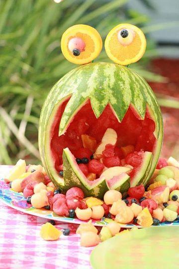 tecnicas y cortes de frutas para decorar