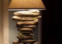Sencillos y originales adornos de madera rusticos