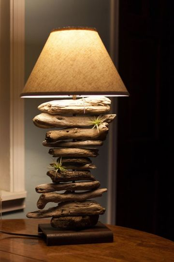 adornos de madera rusticos
