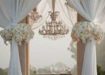 Hermosos y creativos adornos para boda civil en casa