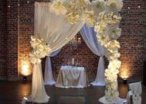 Originales adornos para boda en salon con tematica
