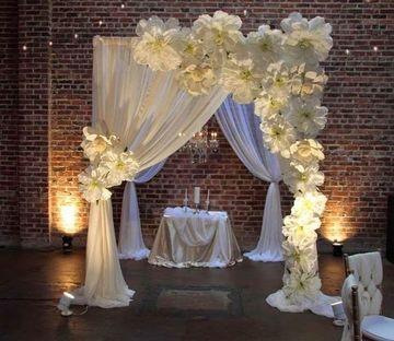 adornos para boda en salon economico