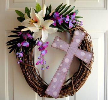 adornos para semana santa para puertas