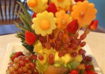 Adecuados y sencillos arreglos de frutas naturales