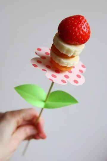 arreglos de frutas naturales sencillo