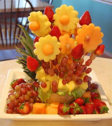 arreglos de frutas naturales